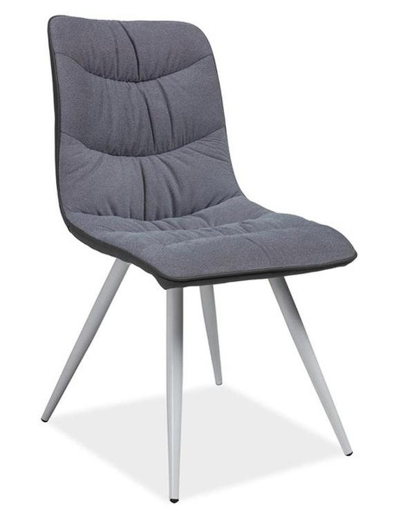 b6ae59b47e09b Jedálenská čalúnená stolička EVITA šedá | Supersektor.sk