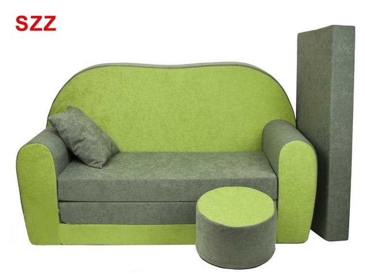 6559348ff3d6a Detská sedacia rozkladacia súprava zelená SZZ | Supersektor.sk